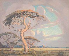 South Africa Art, South African Artists, Parasol, Landscape Prints, Van Gogh, Printmaking, Photo Art, Cool Art, Etchings