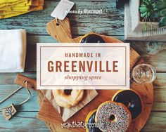 """""""Greenville is full of eclectic, treasure-filled shops that feature fabulous handmade goods! My """"Handmade in Greenville"""" shopping spree is the perfect way to spend a Saturday supporting local businesses, artisans and craftspeople."""" // yeahTHATgreenville"""