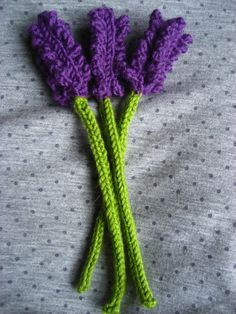 knitted birds | The Philosophy of Lists: Lavender love