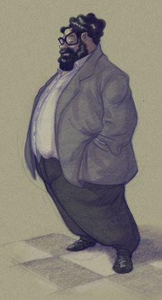 DATTARAJ KAMAT Animation art: Character designs