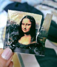 Mona Lisa condom