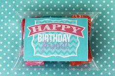 Happy Birthday Friend free printable. #happymoneysaver #happythoughts