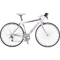 2012 Scott Contessa Speedster 25 Women's Road Bike White/Purple Need in Mountain Bike Accessories, Cool Bike Accessories, Best Road Bike, Road Bikes, Buy Bike, Bike Run, Mountain Bicycle, Mountain Biking, Sports