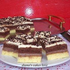 Romanian Desserts, Romanian Food, Romanian Recipes, Bagel, Sweet Treats, Deserts, Dessert Recipes, Food And Drink, Ice Cream