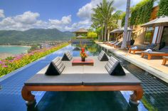 Exotic Modern Villa in Thailand Overlooking the Andaman Sea:
