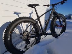 12 kg fatbike. Build by SGbikes Norway