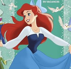 The Little Mermaid ~ Ariel Disney Songs, Disney Art, Disney Movies, Disney Magic, Disney Characters, Ariel Mermaid, Mermaid Disney, Ariel The Little Mermaid, My Princess