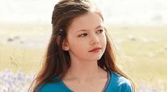 I think that this sweet little girl - Mackenzie Foy - is officially my Mattie look-alike.