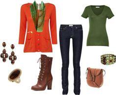 """""""My Other Fall weekend look"""" by tanherb on Polyvore"""