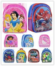 Wholesale New Medium Cute Boys Girls Disney Cartoon Backpack School Bag **************************************** מבחר תיקי גן של דיסני לגן: הלו קיטי, דורה, בוב ספוג ועוד   מחיר: כ 39 שקל כולל משלוח חינם! מידות: 25X22X14 מוצר פופולארי: נמכרו מעל 90 יחידות!