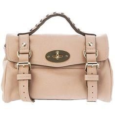 Mulberry 'Mini Alexa' bag ($847) ❤ liked on Polyvore
