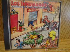 LOS INHUMANOS. SI AL AMANECER NO HE VUELTO... CD / ZAFIRO - 1994. 13 TEMAS. CALIDAD LUJO.