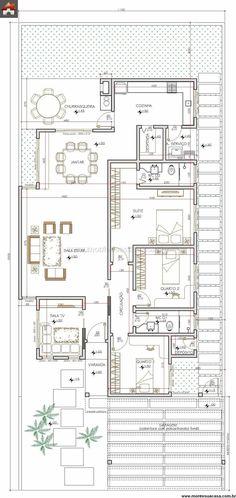 Casa 3 Quartos - 141.34m²