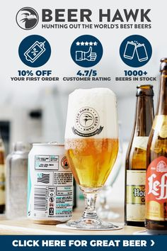 ✔️Over 1000 world beers to choose from ✔️Save on your first order with email signup ✔️Order by for next day delivery Order Beer Online, Beer Club, Beer Shop, Ale Beer, Beer Gifts, World Recipes, Best Beer, Summer Drinks, Pint Glass