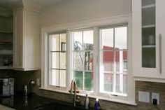 kitchen sink window - Google Search Cape Style Homes, Kitchen Sink Window, Cape Cod, Beautiful Homes, Windows, House, Google Search, Design, Cod