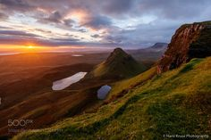 A new morning in the Quiraing by hanskrusephotography