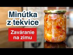 Minútka z tekvice. Zaváranie na zimu. - YouTube Salsa, Youtube, Food, Essen, Salsa Music, Meals, Youtubers, Yemek, Youtube Movies