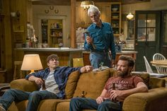 """There's unexpected poignancy among the laughs in the new Netflix comedy """"The Ranch,'' which reunites Ashton Kutcher and Danny Masterson as a pair of Ashton Kutcher, Sam Elliott The Ranch, The Ranch Tv Show, The Ranch Netflix, Sam Eliot, Sam Elliott Pictures, Laugh Track, Sundance Kid, Tom Selleck"""