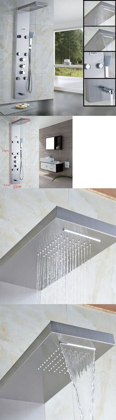 Massagers: Votamuta 55 Stainless Steel Rainfall Shower Panel Rain Massage System With Jets -> BUY IT NOW ONLY: $264.69 on eBay!