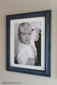 A couple of years ago I came across a website (I can't remember where) that had the idea to dress up a frame with a string of beads and some paint. It's a simple fix and they turn out quite pretty. That idea has been hiding in the back of my brain ever since and... Read more