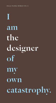 Paul Barnes' Dala Floda Roman No. 2 typeface.