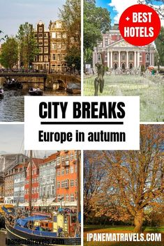 Best cities to visit in Europe in the autumn // Europe city trips // Best destinations for a city trip in Europe in autumn // Cities in Europe for a trip in the autumn // best city break destinations in Europe #europe #travel #traveldestinations #citytrip #europecitytrip #eurotrip #traveleurope #europeinautumn