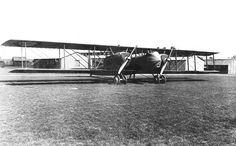 Caudron R.11 at Air Service Production Center No. 2, Romorantin Aerodrome, France, 1918. The R.11 was a French five-seat twin-engine bomber, reconnaissance and escort biplane developed and produced by Caudron during WWI, and was originally intended to fulfill the French Corps d'Armee reconnaissance category. The French army ordered 1000 R.11s. Production began in 1917, with the first aircraft completed late in that year. In Feb 1918 the first squadron R.26 was equipped.