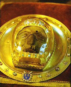 Reliquary of the skull of John the Baptist
