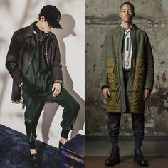 The main trends of Fall - Winter 2016/2017 Menswear  No.9 Green #fashion #trend #review #fall #winter #2016 #fw2016 #menswear #green #colour #style #man #look #menstyle #menfashion #luxury #sport #outfit #ootd #new #season #collection #runway #fashionshow #jds #31philliplim #philliplim #oamc The review was prepared by Julia Soldatova, an expert of JDS