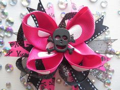 Hey, I found this really awesome Etsy listing at https://www.etsy.com/listing/208481851/pink-punk-skull-bow-bowtique-style #moshpit #moshpitkids #heavymetal #babyclothes #hairbows #Rockstar #rockabilly #tutu #metal4life #metalhead #drummer #etsy #handmade #hornsup #concert #guitar #kidsclothes #girlsclothes #fashion #followme #baby #metalkids #headbanger #freestuff #rockandroll #punk #bowtique #boutique #band #skull