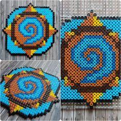 Hearthstone Warcraft Perler Hama Beads - Beadsmeetgeeks