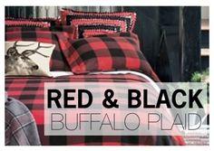 Red & Black Buffalo Plaid