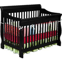 #donation The #Delta Canton 4-in-1 convertible crib is a perfect addition to your nursery. This beautiful Canton crib converts to a toddler bed, day bed and full...