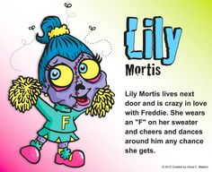 Lily Mortis  www.zombiesquirts.com