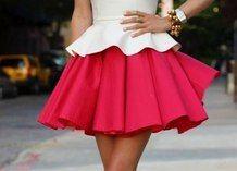 perplum 2 layer dress