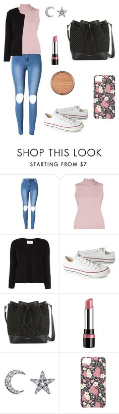 """""""Untitled #717"""" by mariafilomena471 ❤ liked on Polyvore featuring Rumour London, Allude, Converse, Rimmel and Khai Khai"""