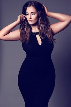 Ladies with curves, should not hide them-self, remember this girls/ladies with curves. love the curvy fashion❤