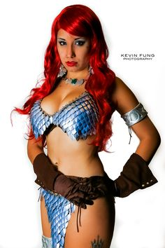 Rosanna Rocha Female Warrior #Cosplay