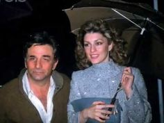 A loving tribute to Peter Falk and Shera Danese, one of the cutest couples in Hollywood. They met during the shooting of a Columbo episode, in which Shera ha. Columbo Episodes, Lindsay Crouse, Columbo Peter Falk, Basset Dog, Pilot Wife, The Great Race, His Eyes, In Hollywood, Cute Couples