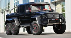 Cruise U.S. Streets In This Beastly $1.35 Million Brabus G63 6x6