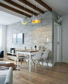 Rústico & minimalista.