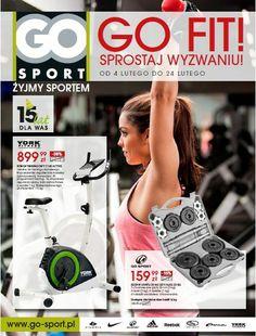 Od 4 do 24 lutego w salonach sieci GO Sport trwa akcja promocyjna GO fit! Sprostaj wyzwaniu! Z tej okazji wybrane produkty z kategorii fitness (sprzęt, akcesoria i odzież) będzie można nabyć w wyjątkowo atrakcyjnych cenach.