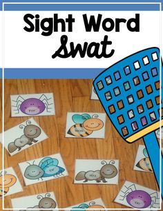 This hands on sight word swat game contains the first two hundred words from the Fry's Sight Word List. This game can be played as a whole class, in teams, or as a small group in a center. Great for Kindergarten, or First grade.
