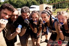 Teamwork WILL get you to the finish line! #SpartanRace #Fitness #Health #InspireFitness #Dedication