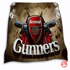 New Arsenal Gunners Logo Blanket
