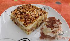 Tiramisu, Banana Bread, Izu, Baking, Latte, Ethnic Recipes, Basket, Vanilla Cream, Biscuit