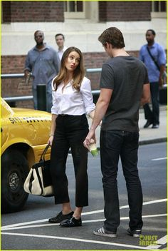 Liam Hemsworth & Amber Heard: 'Paranoia' Film Set