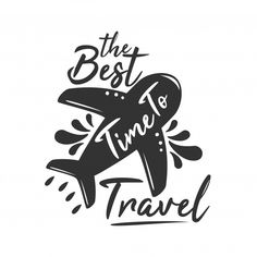 The best time to travel Premium Vector Calligraphy Quotes Doodles, Quotes Arabic, Doodle Quotes, Calligraphy Drawing, Hand Lettering Quotes, Creative Lettering, Doodle Drawings, Cute Drawings, Doodle Art