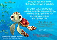 Finding Nemo Baby Shower Invite