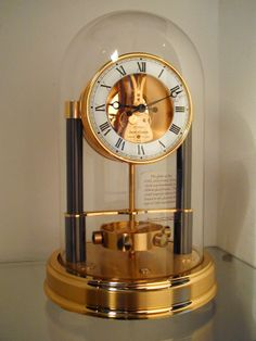 Jaeger LeCoultre, 150 year Jubilee Atmos clock. Immaculate condition.